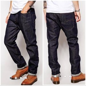 G Star Raw selvedge US First Straight leg Jeans